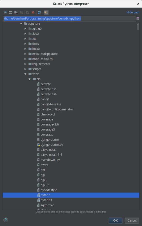 Store Development Installation — nextcloudappstore 2 0 0